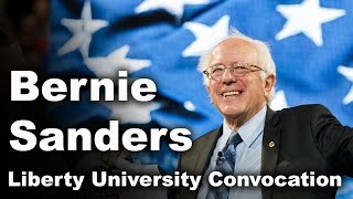 U.S. Senator Bernie Sanders - Liberty University Convocation