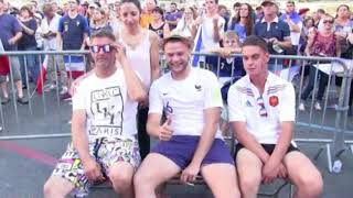 Finale Coupe du Monde à Avallon