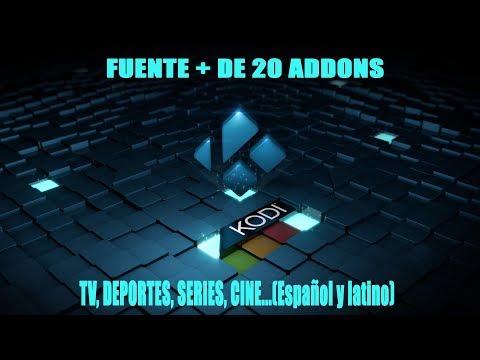 TUTORIAL KODI 2018 FUENTE CATOAL CON + DE 20 ADDONS, TV, DEPORTES, CINE....Español y Latino