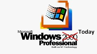 Using Windows 2000 in 2016: Is It Possible?