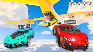 Stealing RARE Supercars From MAFIAS Cargoplane In GTA 5 RP..