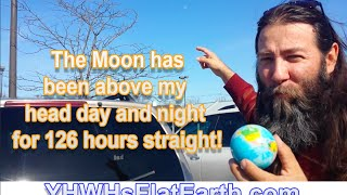 The Moon has Been Above my Head for 124 Hours Straight!