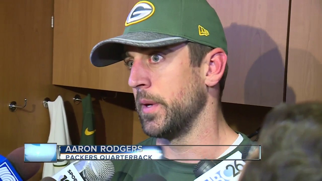 Aaron Rodgers responds to tragedy in Manchester