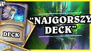 """""""NAJGORSZY DECK""""... NO PRAWIE:) - GIANT ARUGAL MAGE - Hearthstone Deck Wild (WW)"""