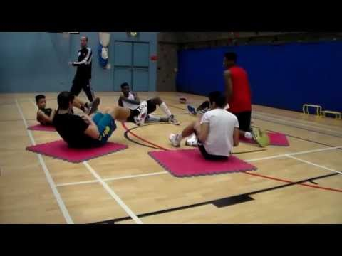 Guillermo Sánchez. Conditioning Training John Madejski Academy/England Basketball.