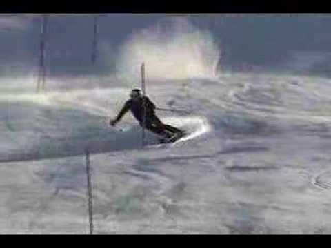 Ted Ligety slalom training New Zealand 07