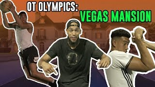 The Overtime Mansion Got HEATED! Scotty Pippen & KJ Martin Take On The Compton Magic In OT Olympics!