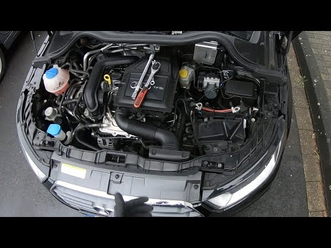 How to replace the battery car start battery AGM replacement Audi A1/S1 Sportback DIY