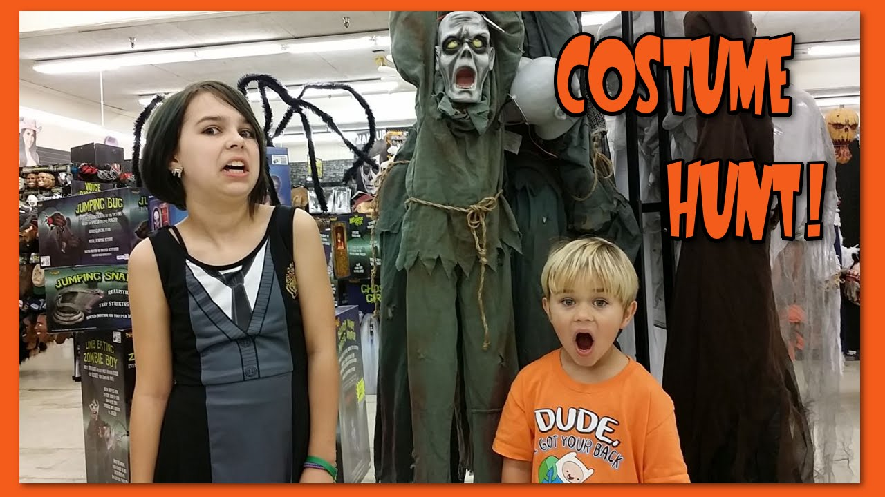 halloween costume shopping hunt - doctor who, my little pony