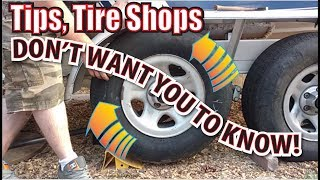 Balance Tires Without Removing Them... Car Truck Trailer