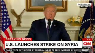 Reverse Speech Analysis Syria  Donald Trump 20180413