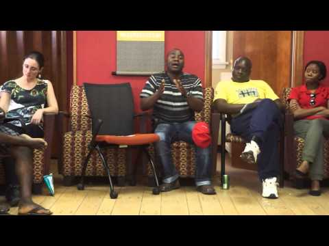 The End Of Poverty (?) Film Discussion with 25 YALI Washington Fellows pt 5