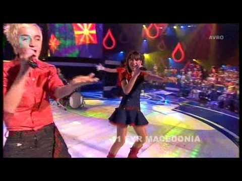Junior Eurovision 2007: Rosica Kulakova & Dimitar Stojmenovski - Ding Ding Dong (F.Y.R. Macedonia)