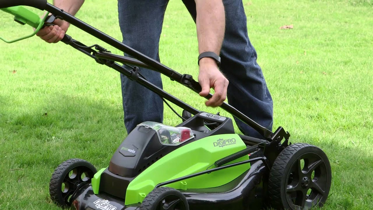 Gareth & Doug's Review of the Greenworks 40V Lawnmower