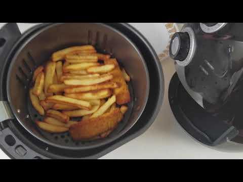 Air Fryer - Cooking Frozen Chips & Fish Fingers