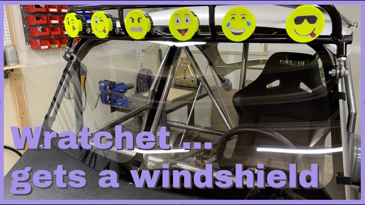 Making a removable windshield for Wratchet.