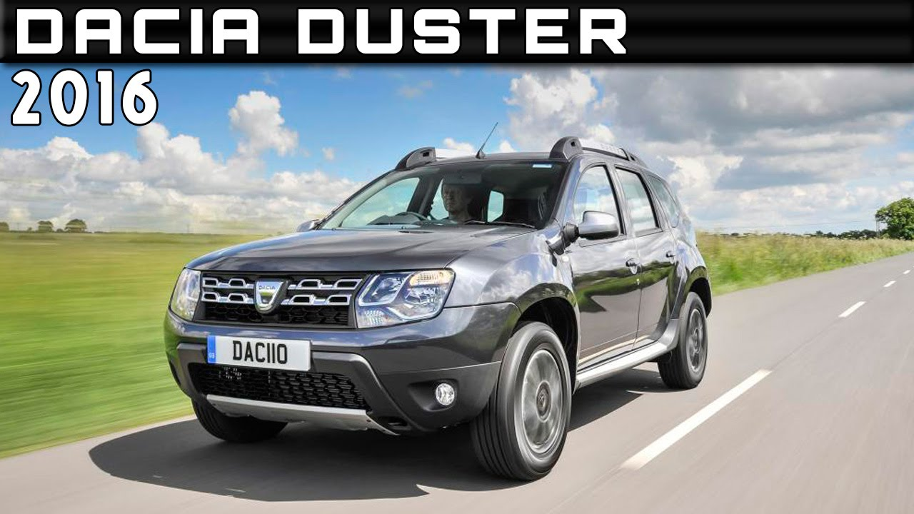 2016 dacia duster review rendered price specs release date