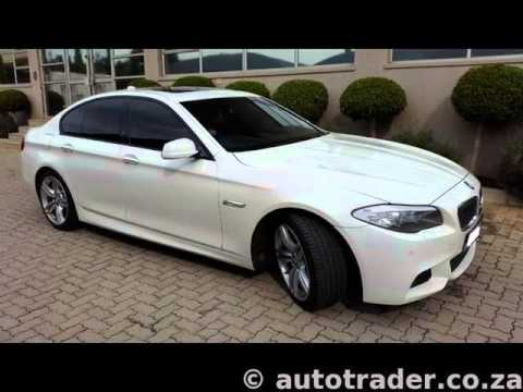 2012 bmw 5 series 535d m sport 4dr auto auto for sale on auto trader south africa youtube. Black Bedroom Furniture Sets. Home Design Ideas