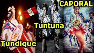 El Origen  Peruano De La Danza Caporal