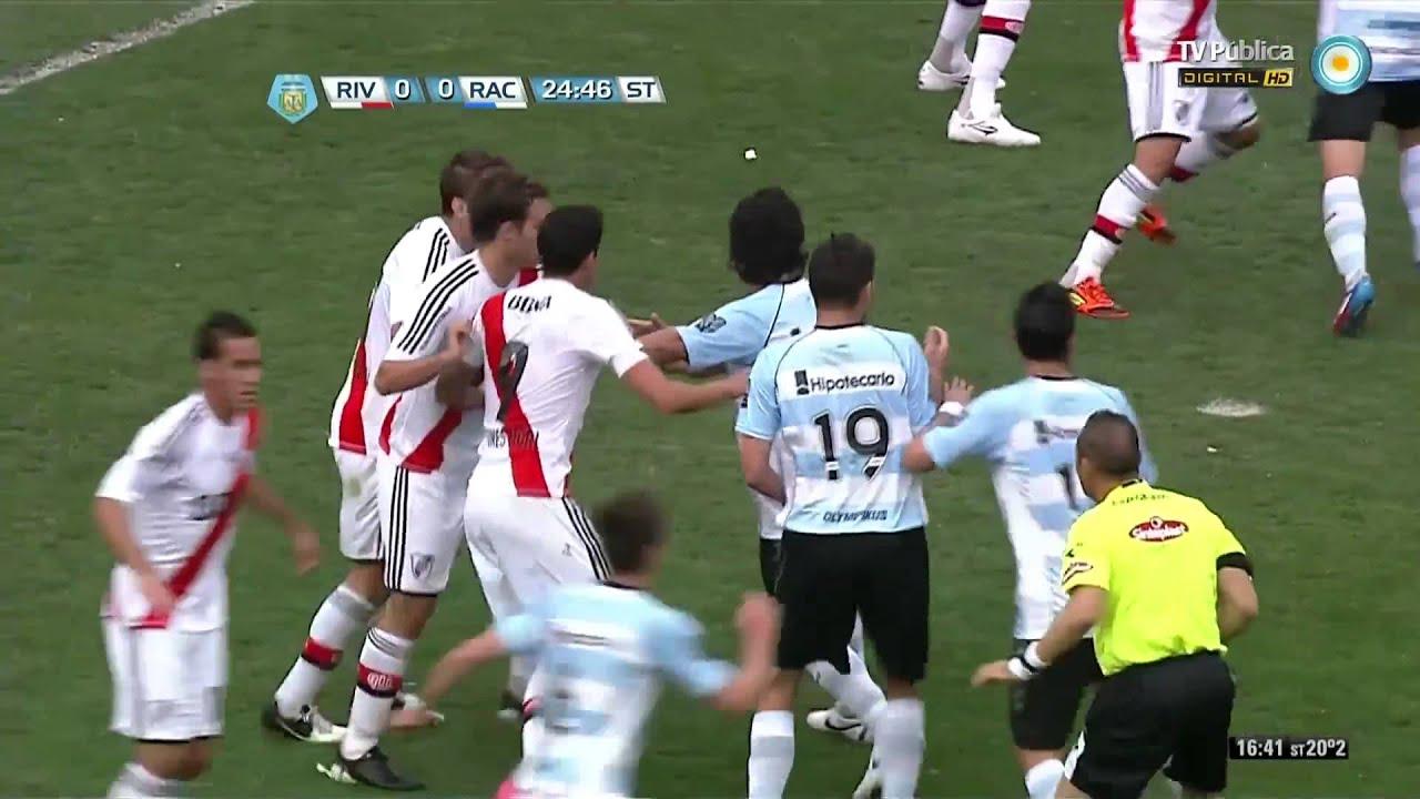 River Vs Racing: River Plate 0 Vs Racing Club 1 (8° Fecha Del Inicial 2012