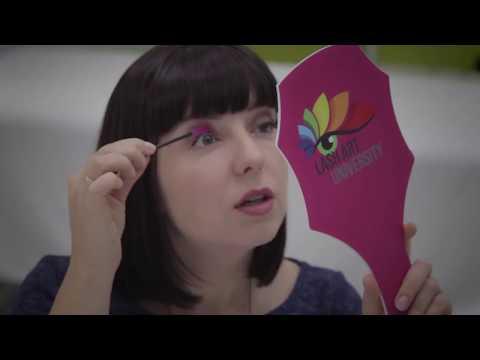 Как расчесывать нарощенные ресницы видео