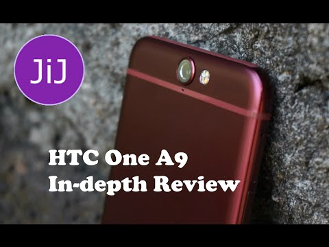 HTC One A9 Deep Garnet Red In-depth Review