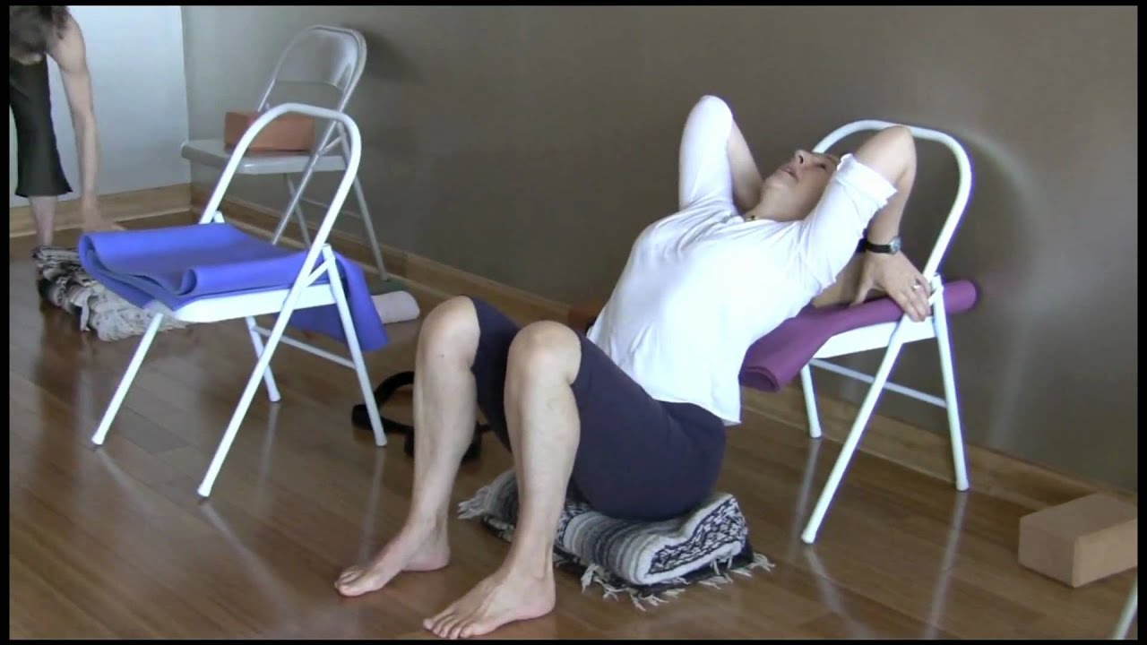 Yoga Chairs Bobby Clennell Backbends Workshop Urdhva Dhanurasana