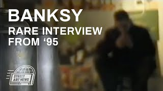 Banksy Rare Interview from '95