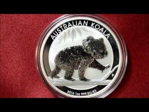 2016 Australian Koala Silver Coin