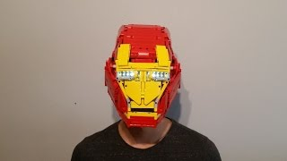 LEGO Iron Man helmet MK VI