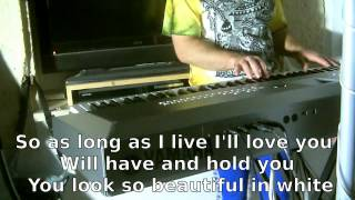 Westlife - Beautiful in White KARAOKE HD