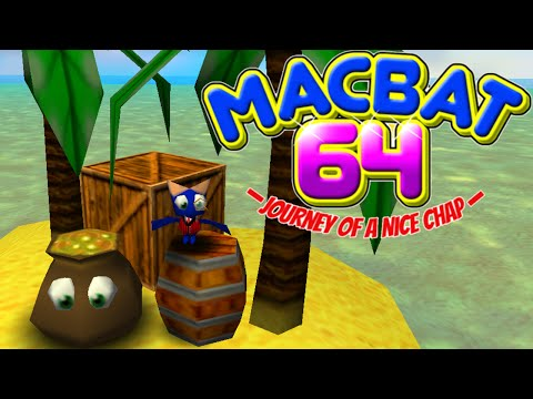 MACBAT 64 [ALPHA DEMO] - NINTENDO 64 NOSTALGIA! [Banjo-Kazooie Inspired Game]