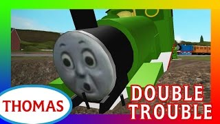 Double Trouble (Thomas, Percy and the Coal) | Thomas and Friends Roblox Accidents Remake
