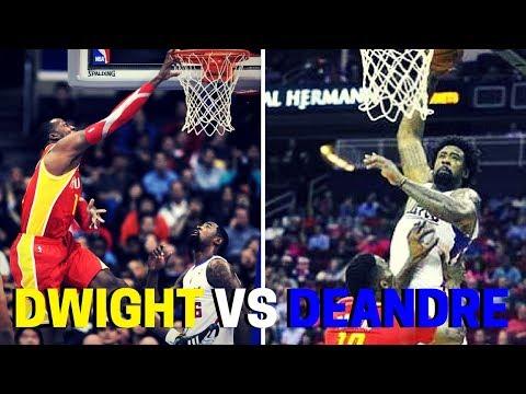 DeAndre Jordan Vs Dwight Howard Dunk Comparison!!