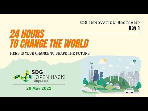 SDG Innovation Bootcamp - Day 1 (20 May 2021)