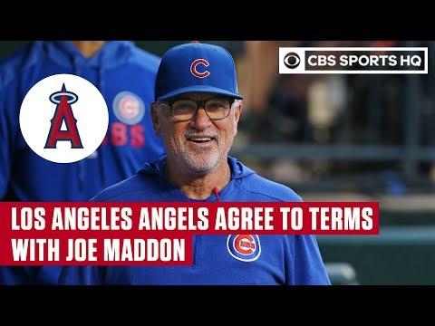 Dan Rivers - Angels Hire Joe Maddon As Manager