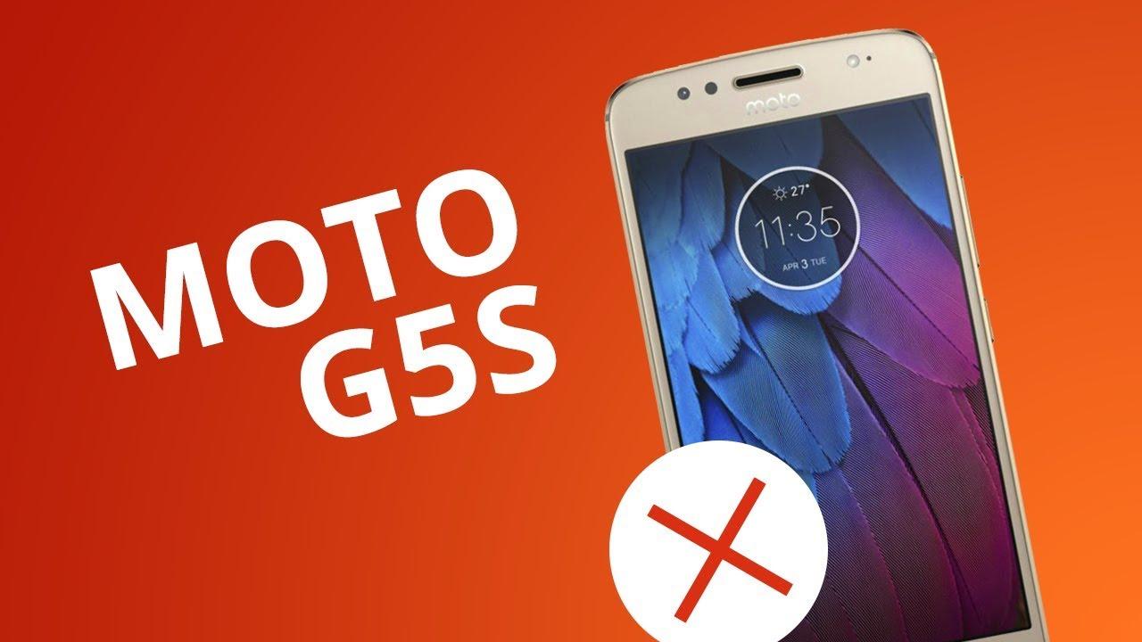 5137f838e1 5 motivos para NÃO comprar o Moto G5S - YouTube