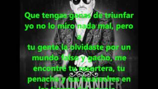 Tumbate el rollo (KOMANDER FT LARRY HERNANDEZ) completa con letra