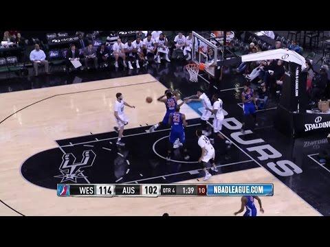 Cory Jefferson posts 16 points & 10 rebounds vs. the Knicks, 12/18/2016