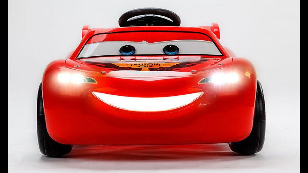 Lighting Mcqueen Battery Car