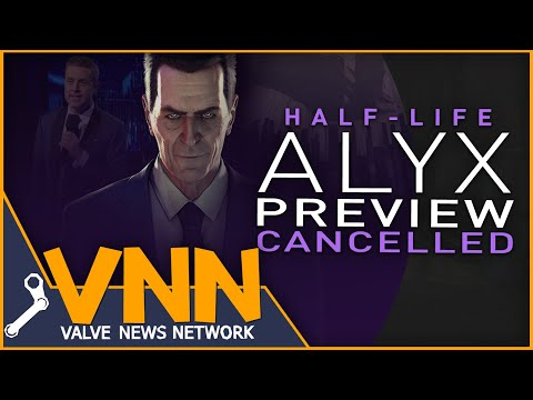 Why Valve Cancelled HalfLife: Alyx's Preview at TGAs