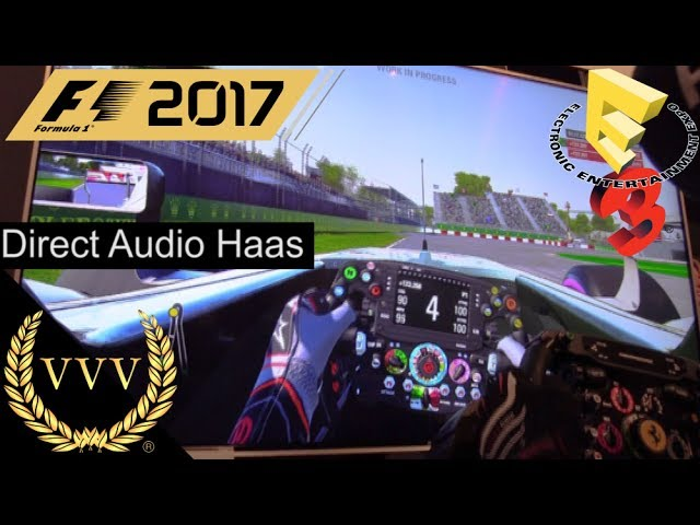 F1 2017 - Direct Audio, Haas at Montreal