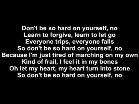 Jess Glynne - Don't Be So Hard On Yourself Lyrics