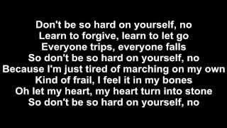 Jess Glynne - Don't Be So Hard On Yourself Lyrics Mp3