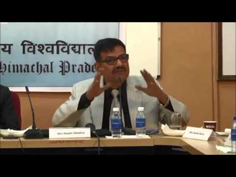 Shashi Shekhar's (Journalist) views on Journalism' in Himachal Pradesh University