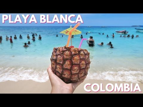 TRAVEL VLOG: Playa Blanca, Colombia