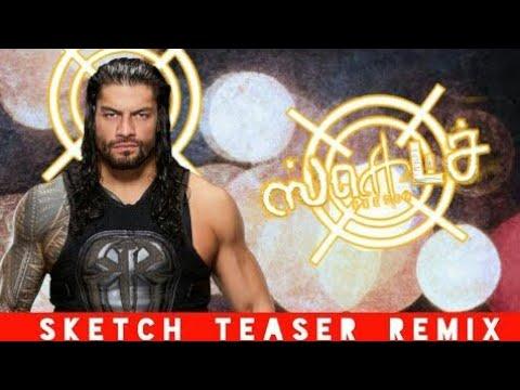 Sketch teaser in Roman Reigns version...