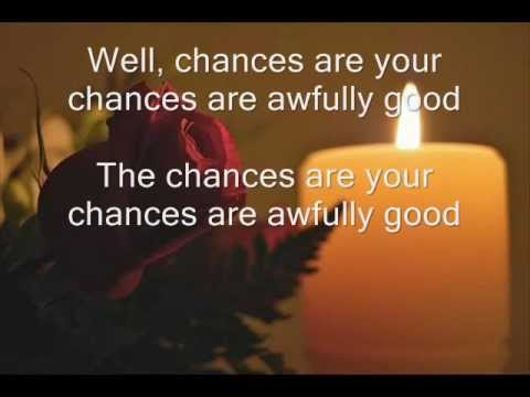 Chances Are ~ Johnny Mathis ~ 1957