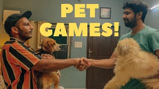 PET GAMES - LEO BAILEY DIARIES || Leo & Fam