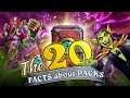 20 FACTS about Hearthstone PACKS! The Boomsday Project: How many packs should you buy?